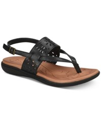 B.O.C. Clearwater Flat Sandals Women's Shoes Black