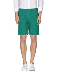 Burberry Brit Trousers Bermuda Shorts Men Green