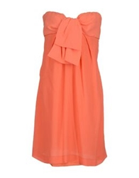 Dinou Short Dresses Coral