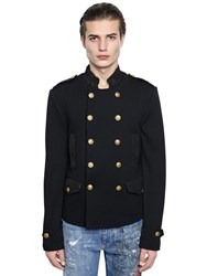 Dolce And Gabbana Military Style Wool Jacket