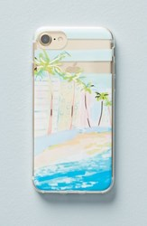 Anthropologie Venice Beach Iphone 6 6S 7 8 Case Blue
