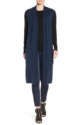 Echo Women's Knit Long Vest Navy