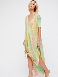 Free People Galaxy Glisten Maxi Tee By