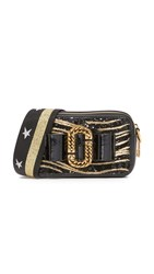 Marc Jacobs Zebra Bow Snapshot Bag Black Multi