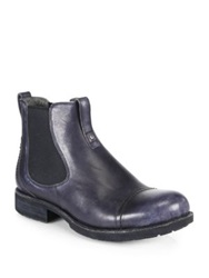 Ugg Gallion Leather Pull On Ankle Boots Black
