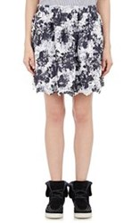 Thakoon Addition Combo Miniskirt Black