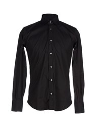 Mazzarelli Shirts Shirts Men Black