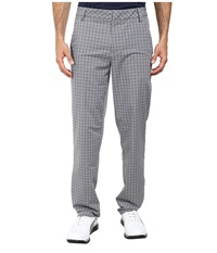 Puma Plaid Tech Pant Folkstone Gray Men's Casual Pants