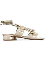 Robert Clergerie Figlouc Sandals Metallic
