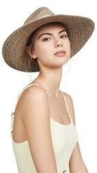 Hat Attack Modern Sunhat Taupe Ivory
