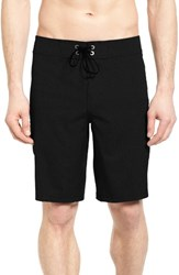 Billabong Men's Big And Tall All Day X Solid Board Shorts Black