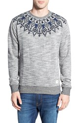 Men's Bellfield Fair Isle Print Crewneck Sweatshirt