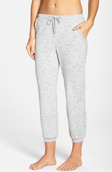 Rebecca Minkoff 'Sally' Sequin Embellished Jogger Pants Grey