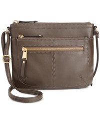 Tignanello Pretty Pockets Smooth Leather Crossbody With Rfid Protection
