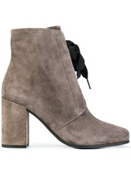 Kennel Schmenger And Lace Up Ankle Boots Grey
