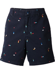 Band Of Outsiders Embroidered Chino Shorts