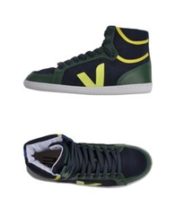 Veja High Tops And Trainers Emerald Green