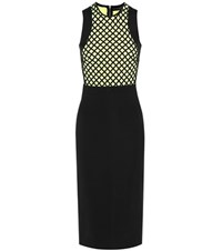 David Koma Embellished Dress Black
