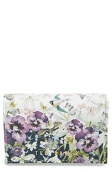 Ted Baker Women's London Entangled Enchantment Leather Wallet