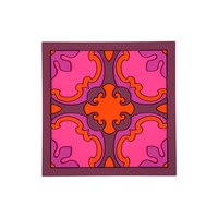 Images D'orient Square Trivet Sejjadeh Ruby