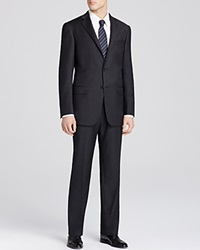 Hart Schaffner Marx Solid Classic Fit Suit Charcoal