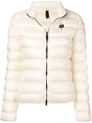 Blauer Short Padded Jacket Neutrals