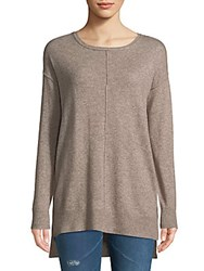 Cashmere Saks Fifth Avenue Pullover Flannel