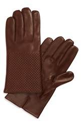 Want Les Essentiels De La Vie 'Dumas' Quilted Lambskin Gloves Brown