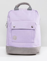 Mi Pac Tote Backpack In Lilac Purple