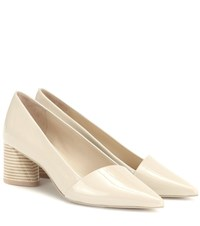 Mercedes Castillo Kioko Patent Leather Pumps Beige
