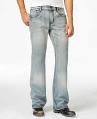 Inc International Concepts Men's Daley Relaxed Fit Gray Wash Jeans Only At Macy's Grey Wash