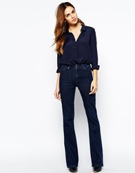 Warehouse 70'S Flared Jeans Indigo