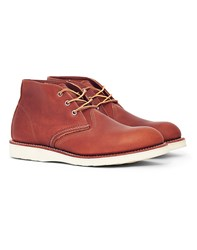 Red Wing Shoes Heritage Work Chukka Leather Tan