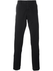 Off White Painted Stripes Trousers Black