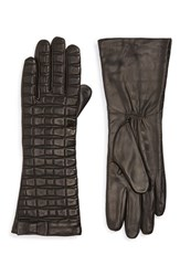 Women's Kate Spade New York Bow Quilted Leather Gloves