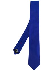 Paul Smith Ps By Classic Tie Men Silk One Size Blue