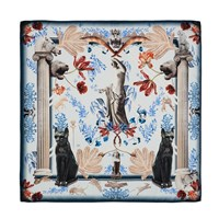 Klements Medium Square Scarf British Museum Blue