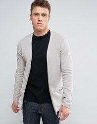 Selected Homme Drapey Cardigan Dove Stone