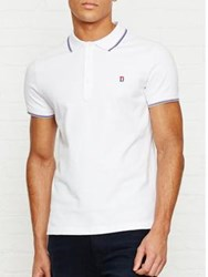 Diesel Skin Short Sleeve Polo Shirt White