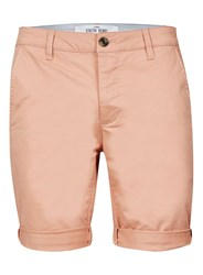 Topman Washed Pink Stretch Skinny Chino Shorts
