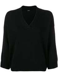 Aspesi V Neck Jumper Black
