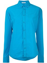 Tomas Maier Button Down Shirt Blue