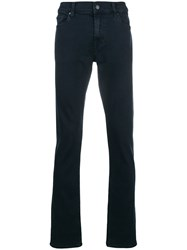 7 For All Mankind Luxe Performance Rinse Jeans Blue