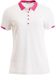 Green Lamb Farrah Club Polo White