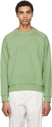 Cottweiler Green Logo Signature 2.0 Sweatshirt