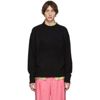 Acne Studios Black Wool Cashmere Sweater