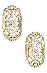 Women's Kendra Scott 'Bryant' Drop Earrings Rose Gold