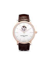 Frederique Constant Slimline Heart Beat Automatic 40Mm White