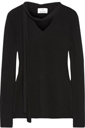 Allude Cashmere Sweater Black