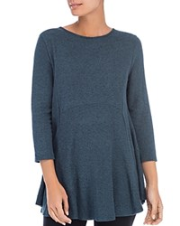 B Collection By Bobeau Brushed Tunic Top Junebug